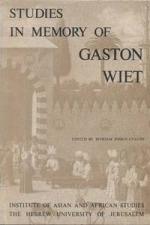 Studies in memory of Gaston Wiet